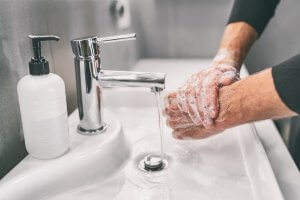 Deep Clean of Hands